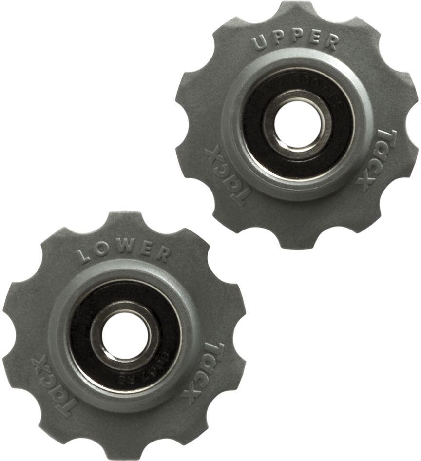 Tacx Pulleyhjul m. lejer af rustfri stål 10 tænder Shimano/Campagnolo/SRAM (2019)   Gear, krank og klinger > Tilbehør