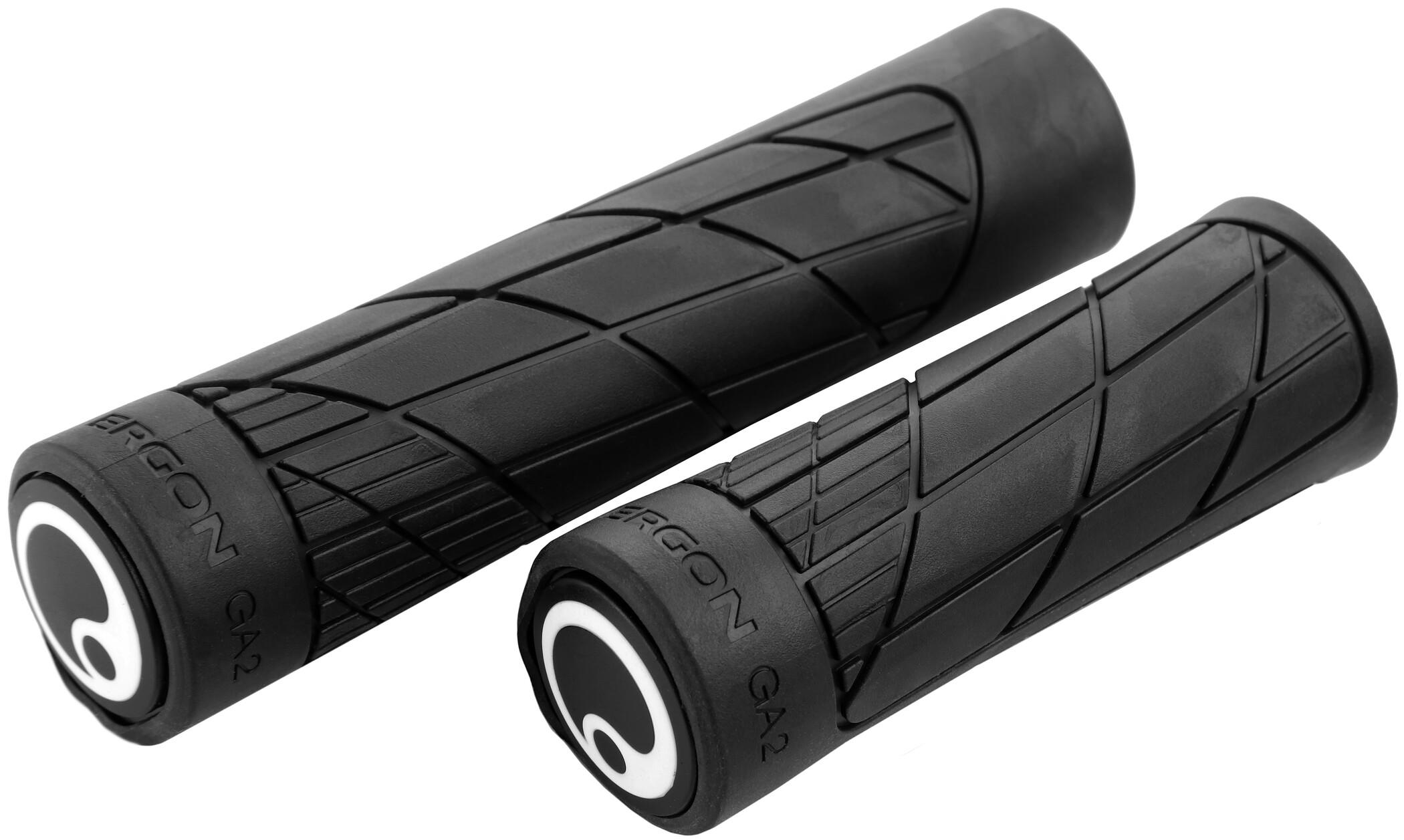 Ergon GA2 Single Twist Shift Cykelhåndtag, black | Håndtag