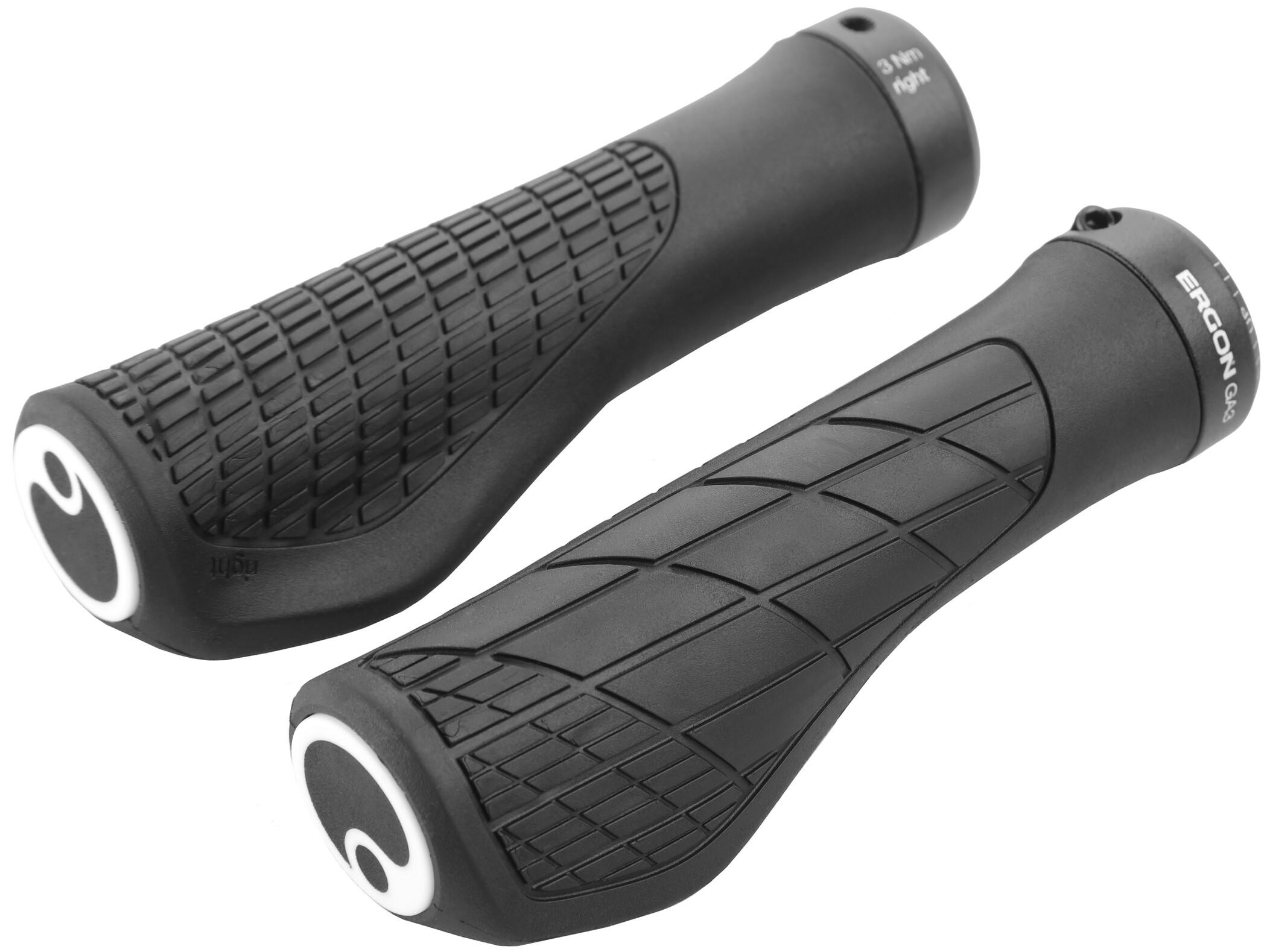 Ergon GA3 Cykelhåndtag, black | Håndtag