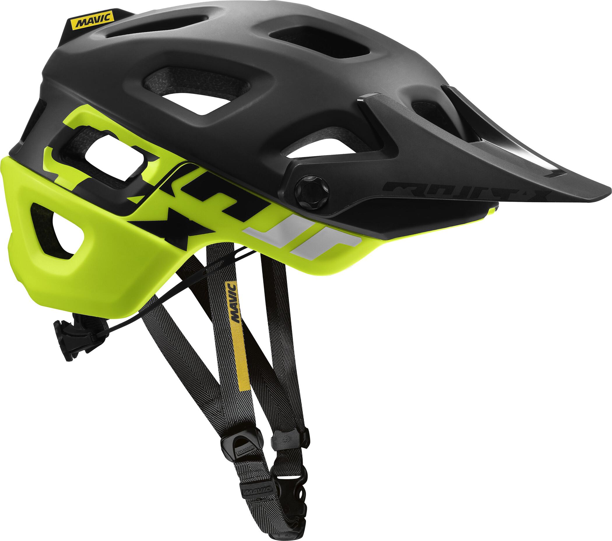 Mavic Crossmax Pro Cykelhjelm, black/safety yellow | Hjelme