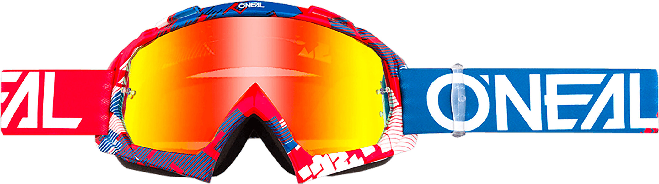 O'Neal B-10 Goggles, pixel red/blue-radium | Briller