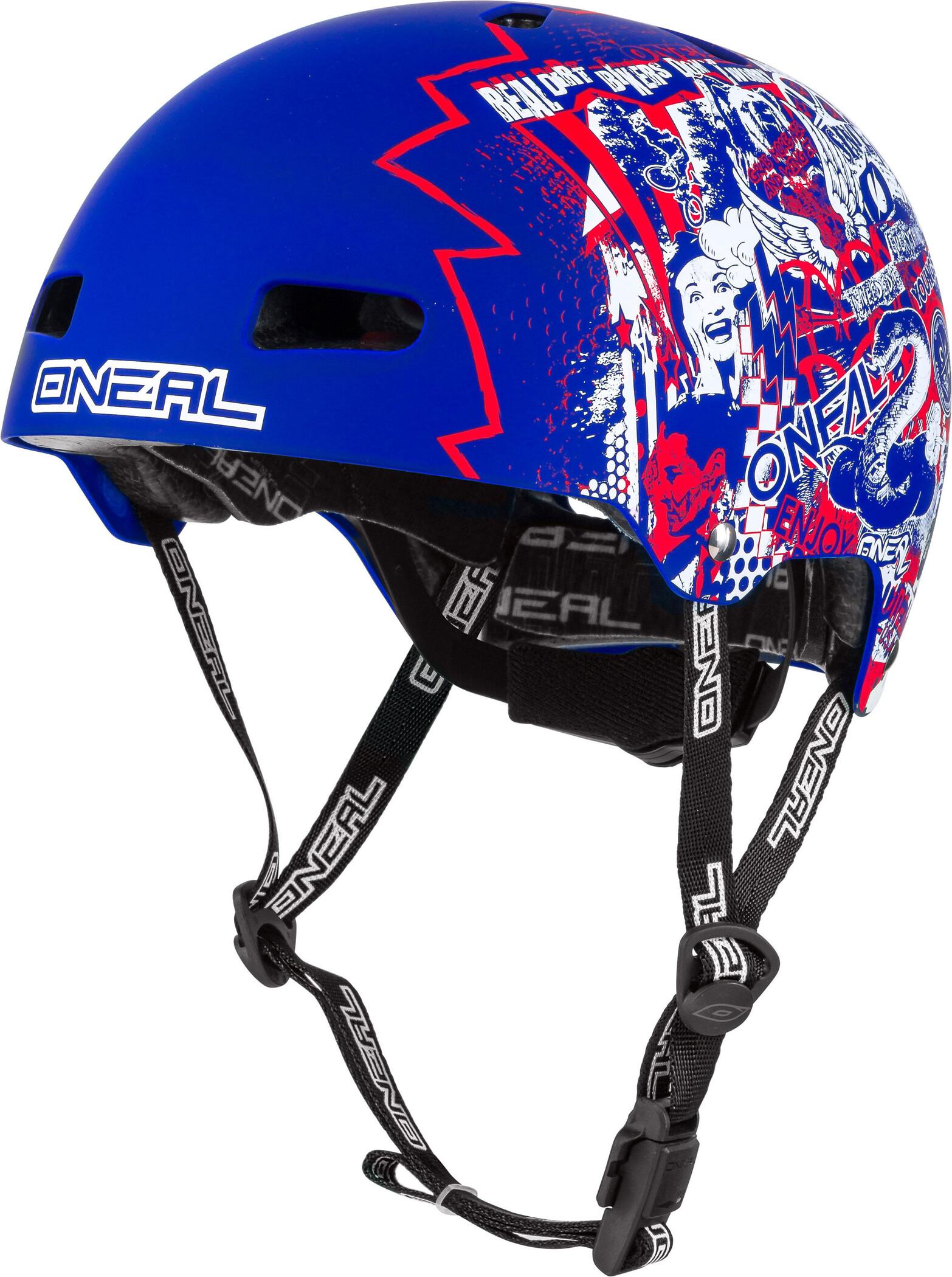 O'Neal Dirt Lid ZF Cykelhjelm, rift blue   Helmets