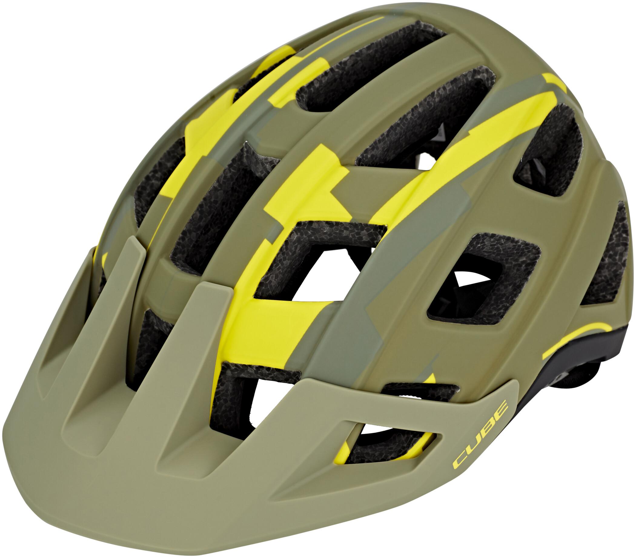 Cube Badger Cykelhjelm, Orange Camo | Hjelme