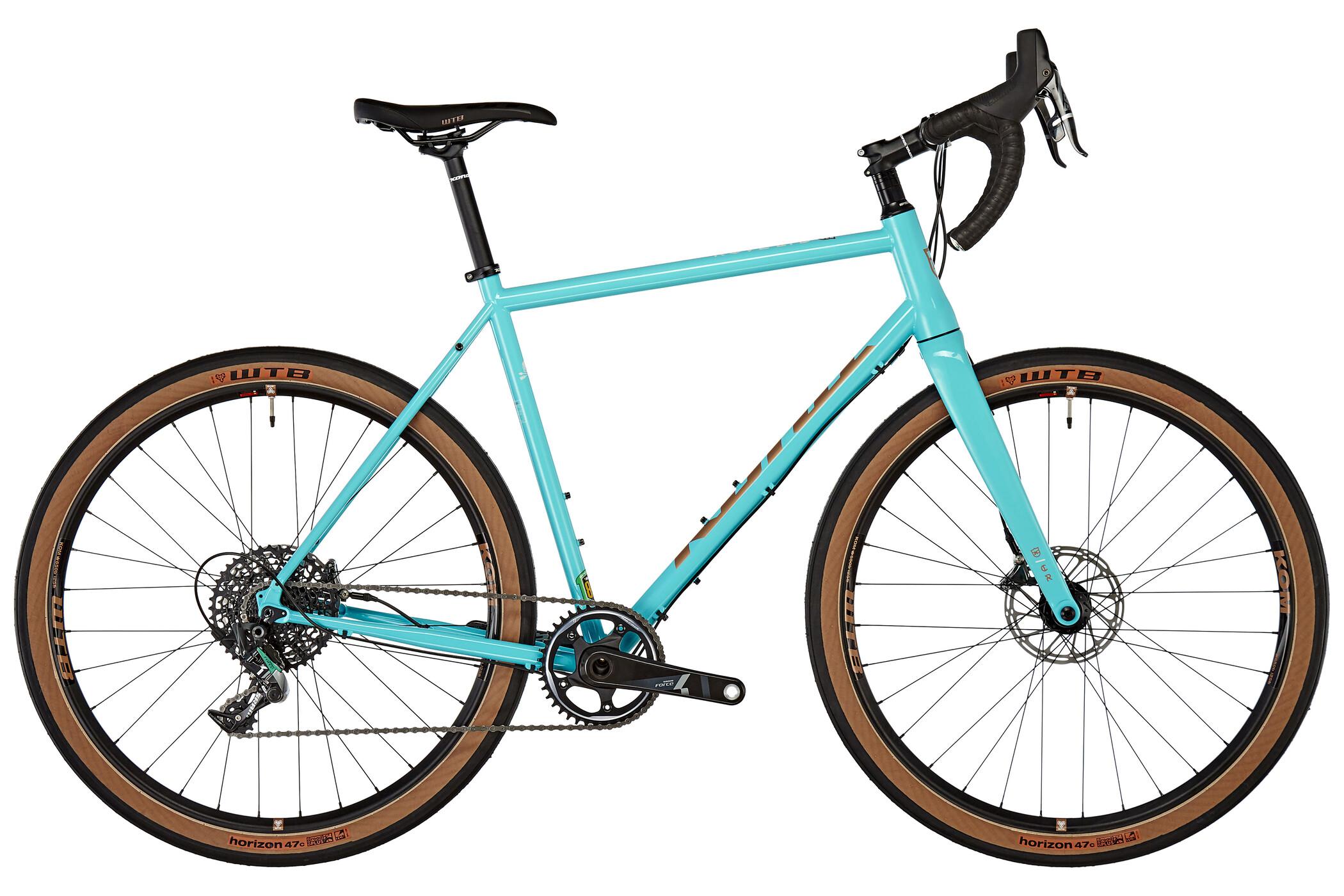 Kona Rove LTD, gloss aqua/copper off-white   Road bikes