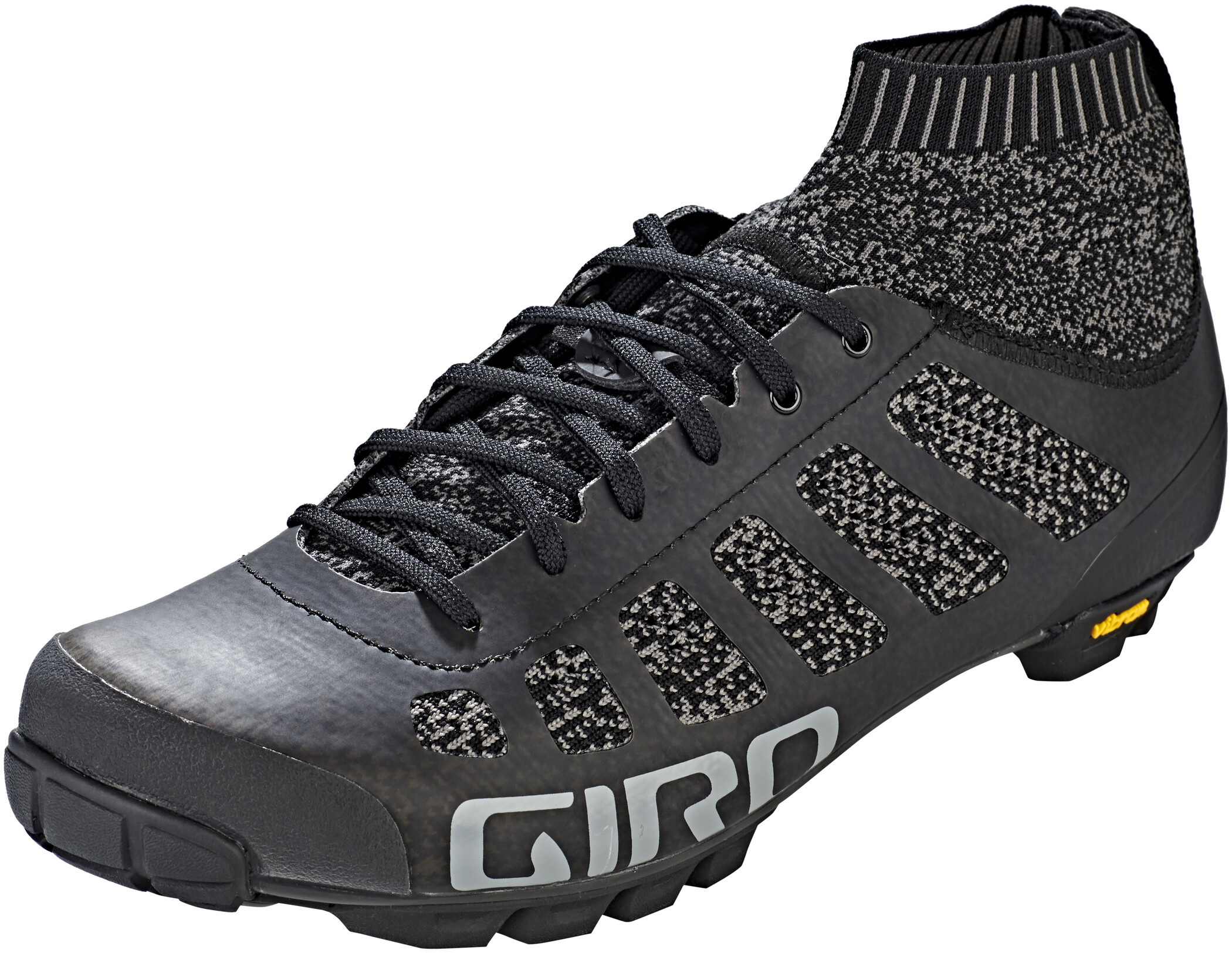 Giro Empire Vr70 Knit Sko Herrer, black/charcoal (2020) | Shoes and overlays