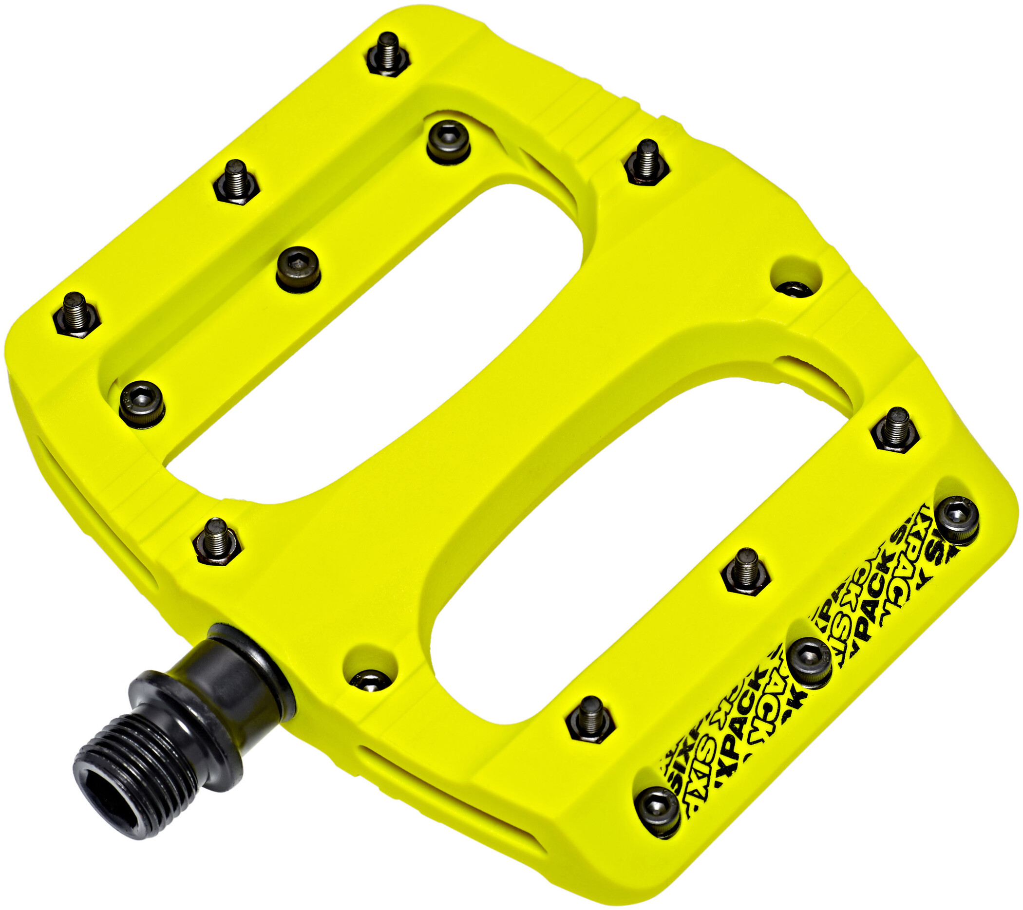Sixpack Vegas Pedaler, neon-yellow (2019) | Pedals