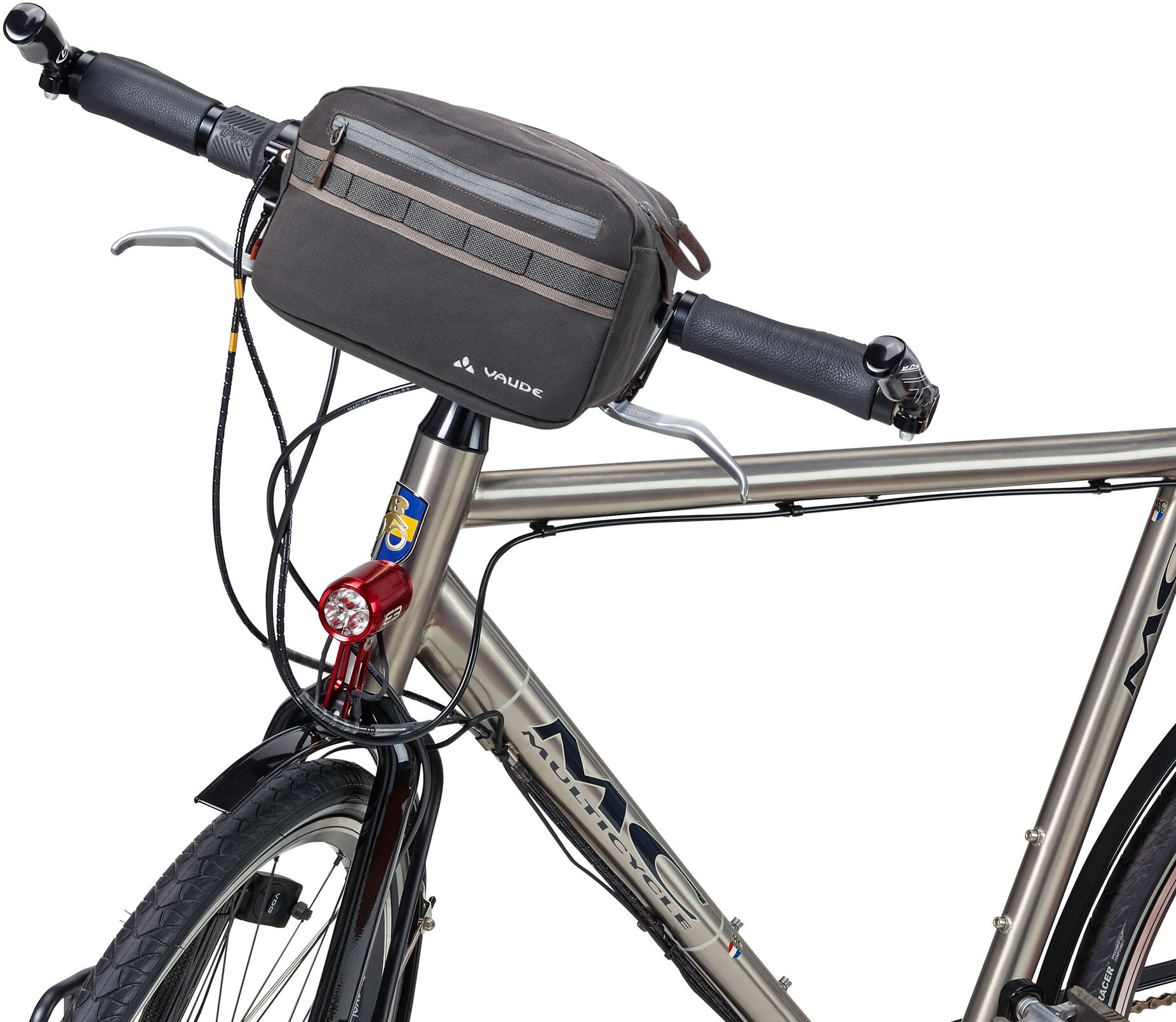 VAUDE Classic Box Cykeltaske, phantom black (2019) | Tasker til bagagebærer