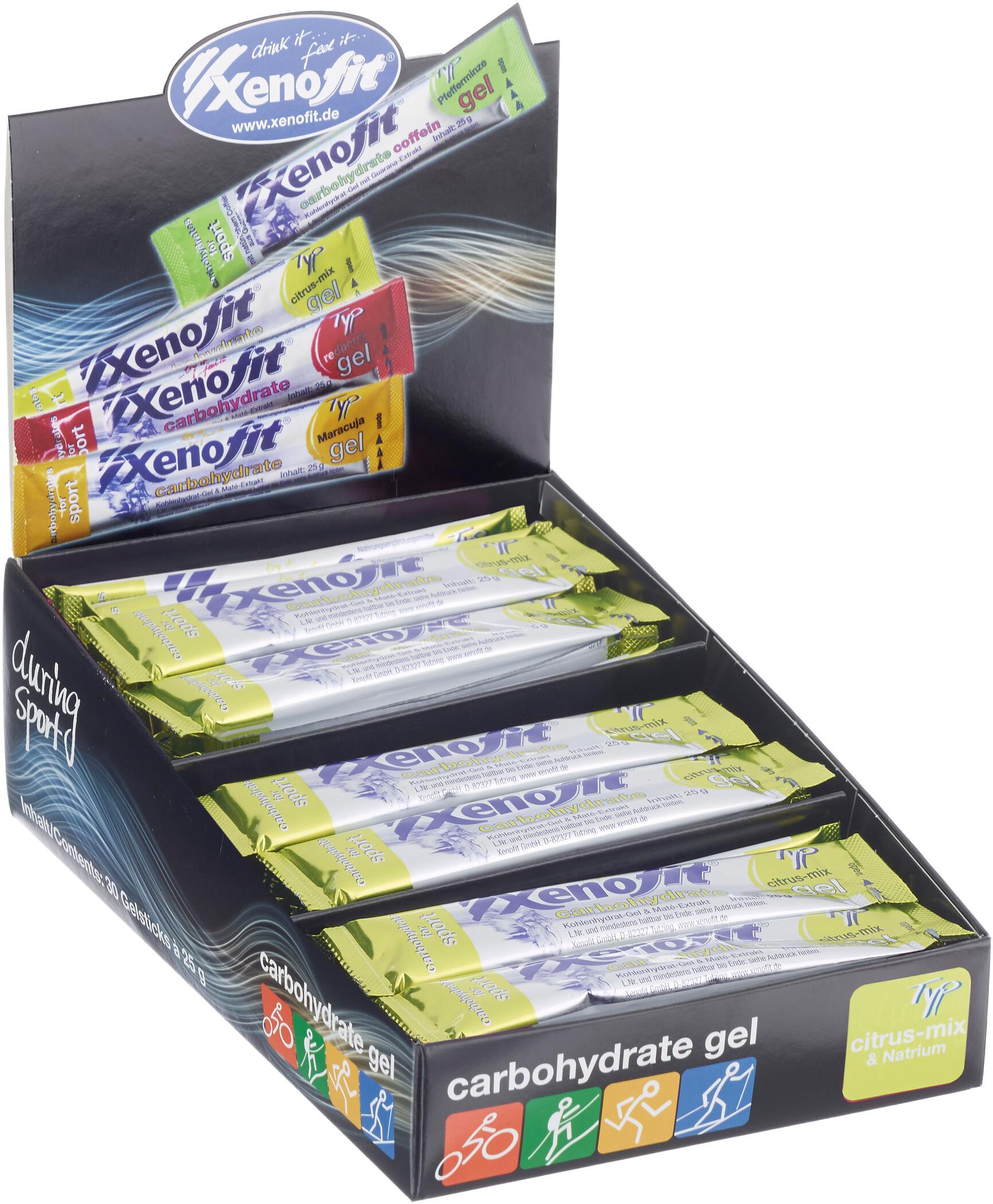 Xenofit Carbohydrate Gel Box 30x25g, Citrus-Mix (2019) | item_misc
