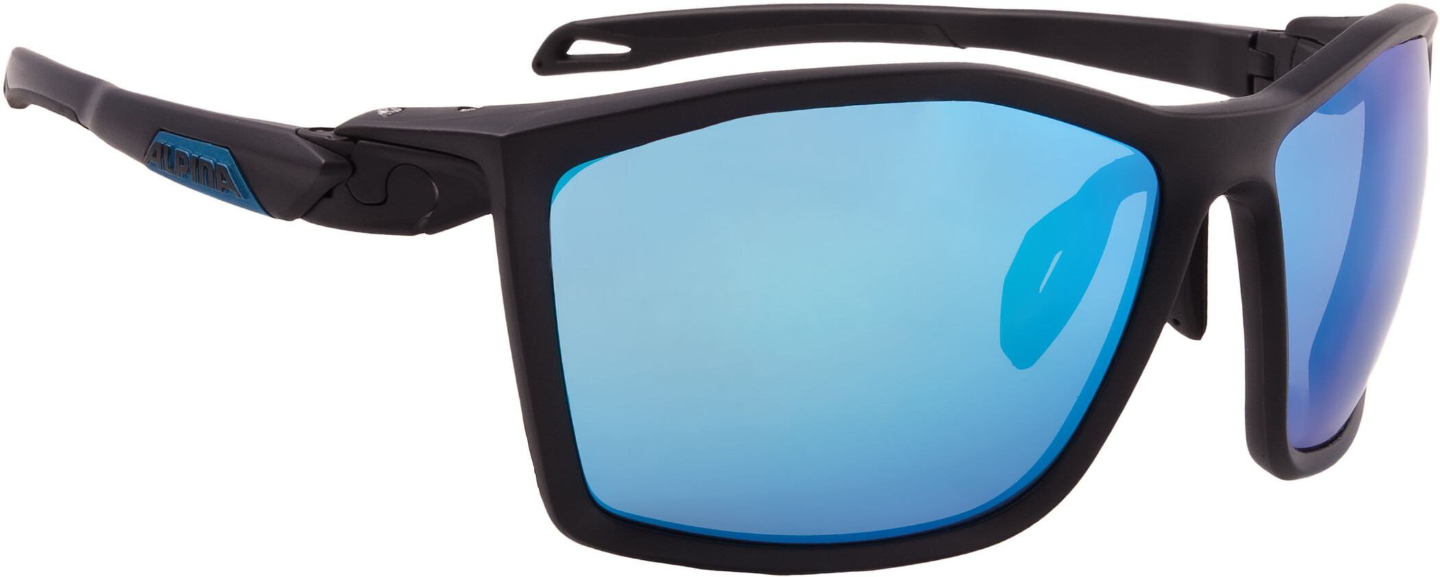 Alpina Twist Five CM+ Cykelbriller, black matt-blue (2019) | Glasses