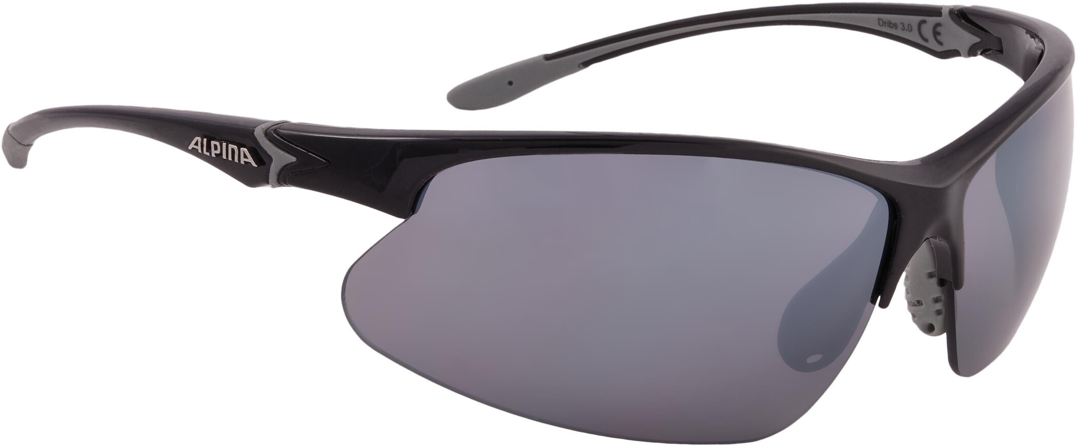 Alpina Dribs 3.0 Cykelbriller, black-grey (2019) | Glasses