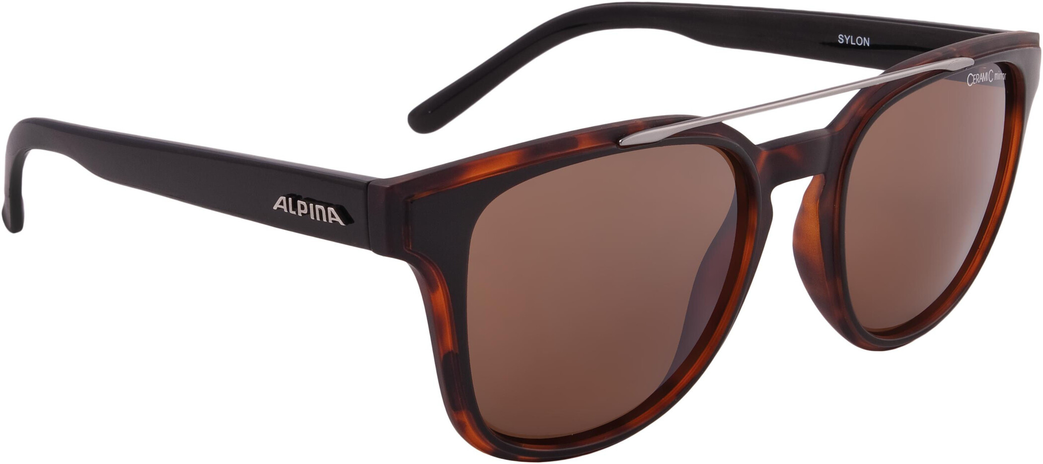 Alpina Sylon Cykelbriller, black-havana matt (2019) | Glasses