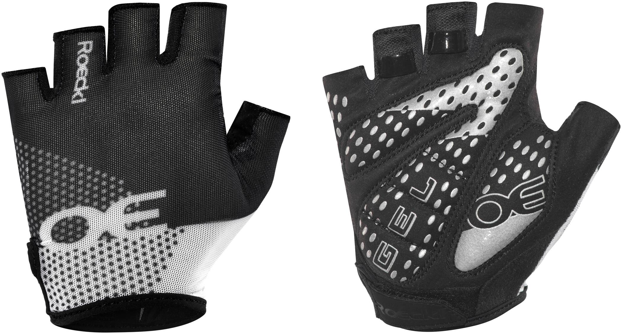 Roeckl Idro Cykelhandsker, black/white (2019) | Gloves