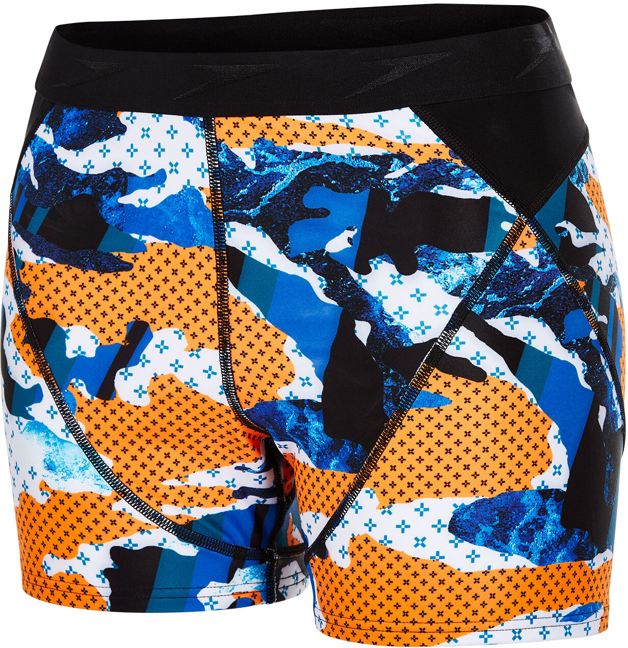 speedo Stormza Sport Brief Women, black/orange | item_misc