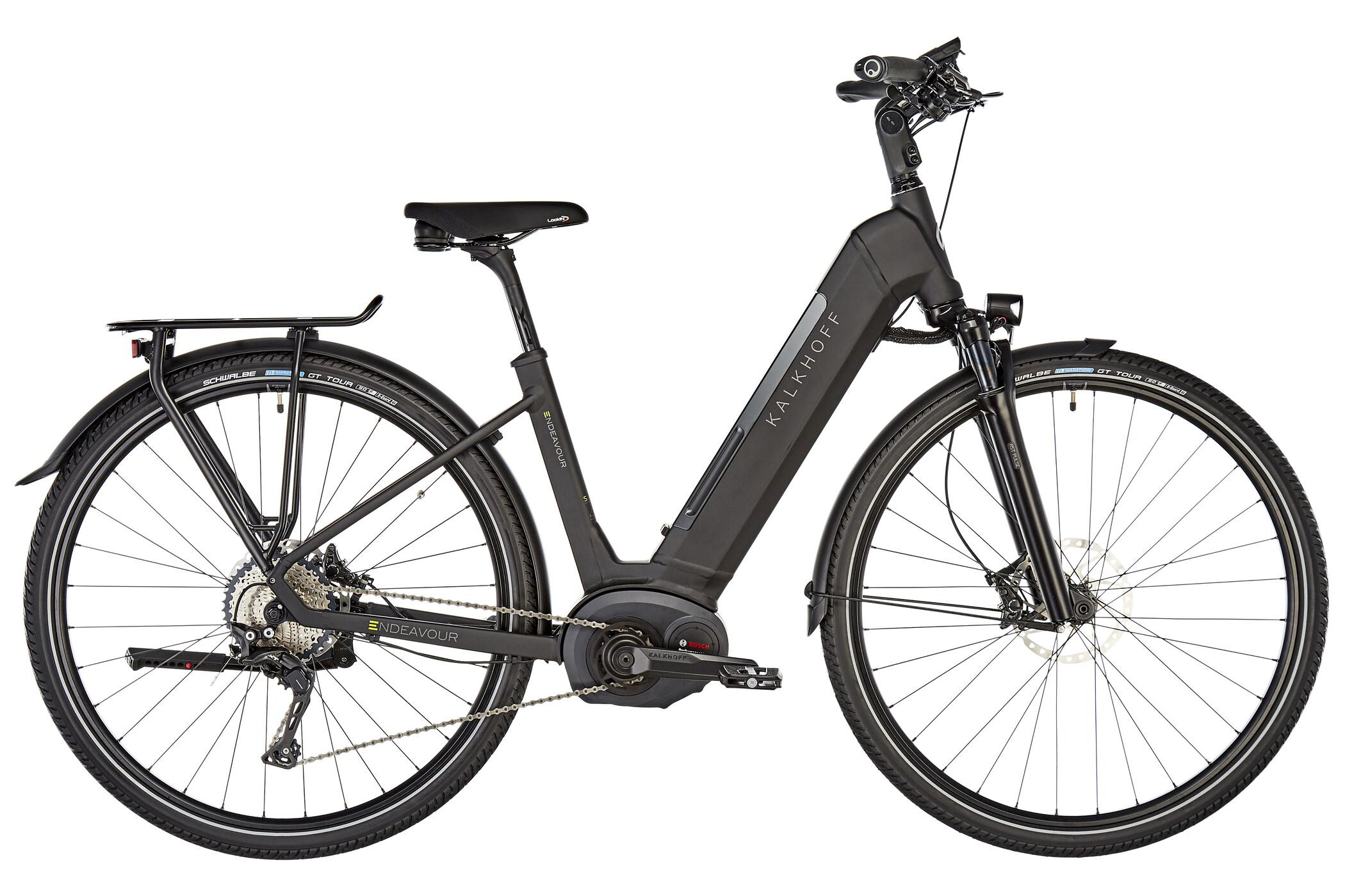 "Kalkhoff Endeavour Excite B11 Wave E-trekkingcykel 28"" 500Wh sort (2019) | City-cykler"