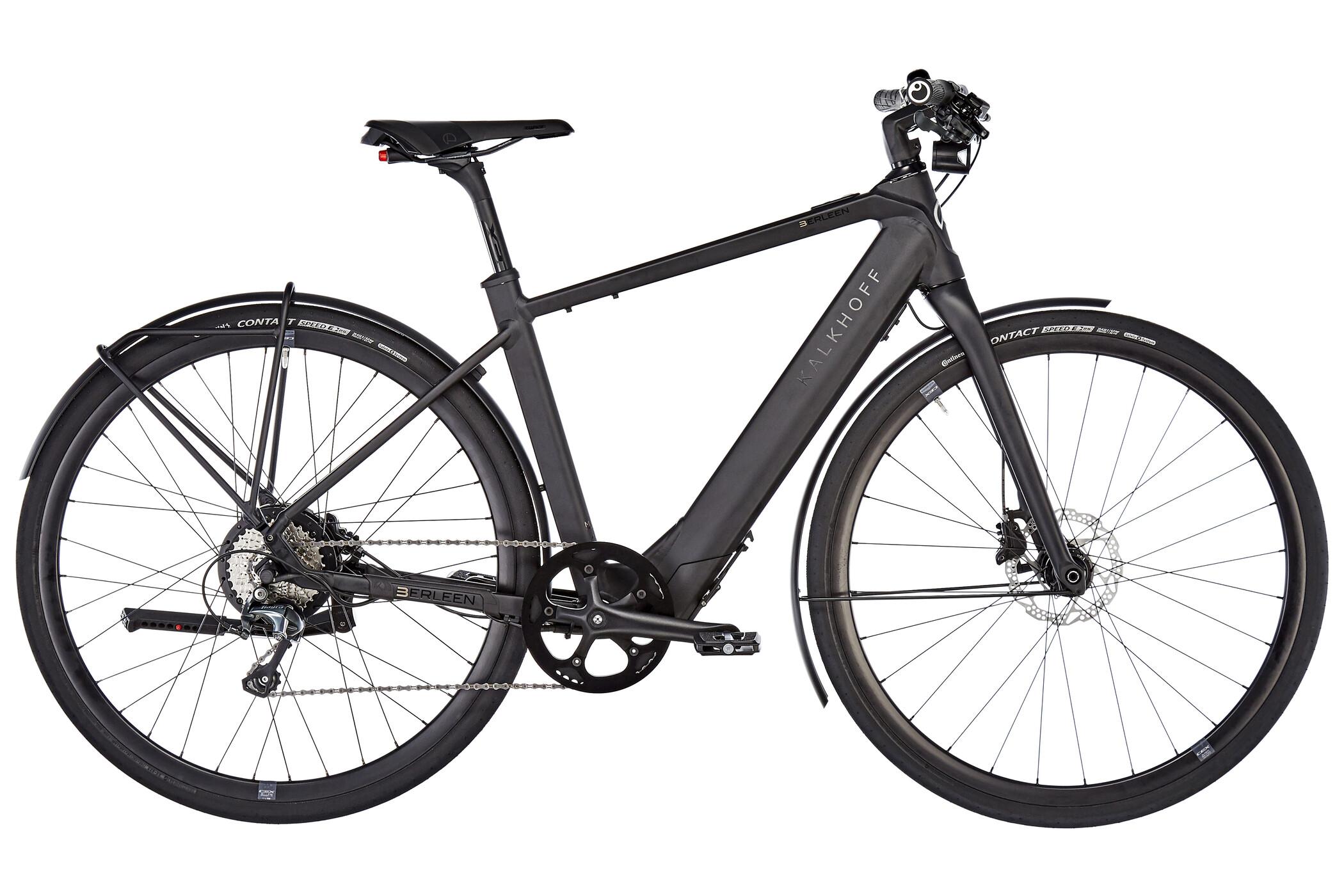 "Kalkhoff Berleen Advance G10 E-citybike 28"" 252Wh sort (2019) | City-cykler"