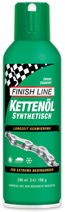 Finish Line Cross Country-kædeolie 246ml Aerosol (2019) | polish_and_lubricant_component