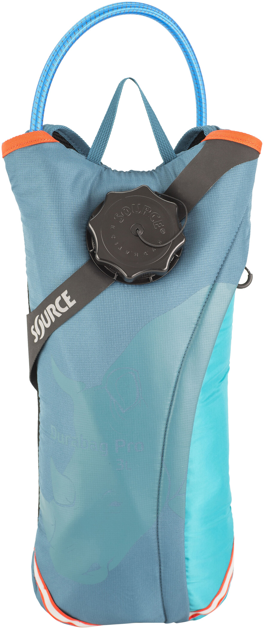 SOURCE Durabag Pro Hydration Pack medium, coral blue (2019) | item_misc