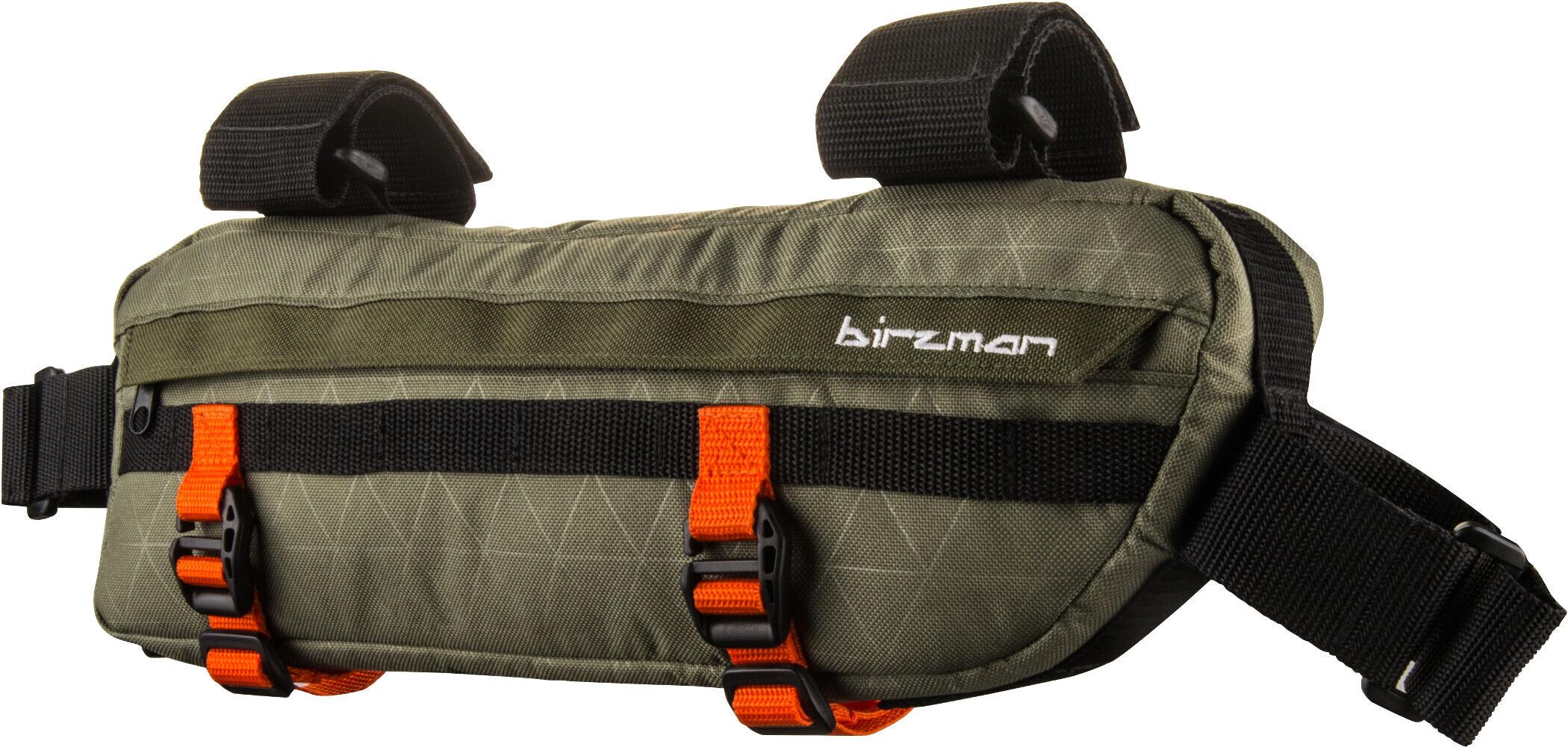 Birzman Packman Travel Planet Cykeltaske, olive (2019) | Frame bags