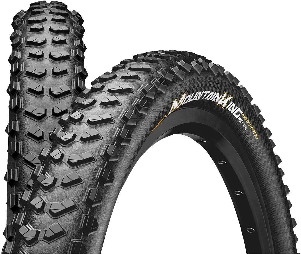 "Continental Mountain King 2.3 Folding Tyre 27,5"" TL-Ready E-25, black (2019) | Tyres"