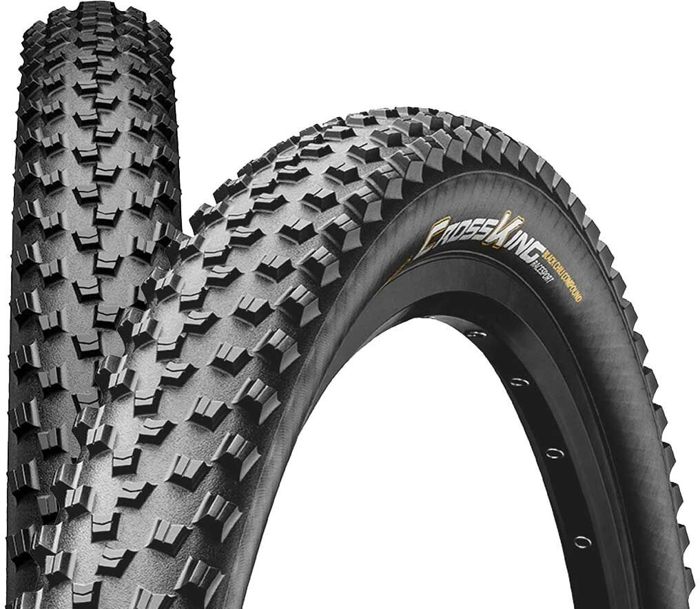 "Continental Cross King 2.3 Folding Tyre 29"" Race Sport, black (2019) 