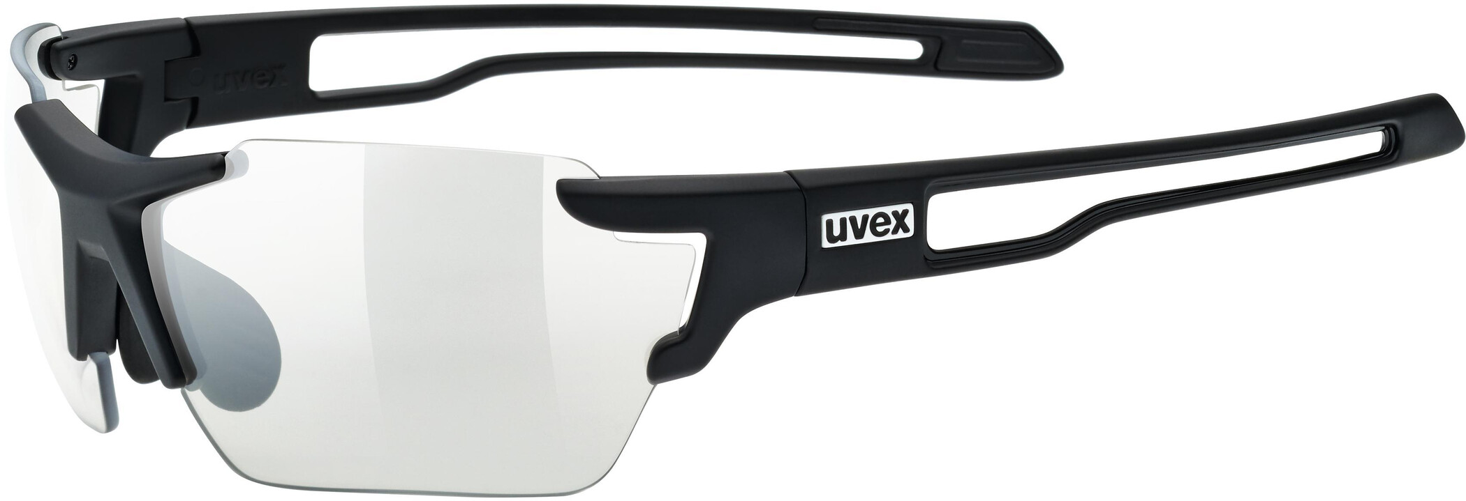 UVEX Sportstyle 803 V Sportsbriller small, black mat/smoke (2020) | Glasses