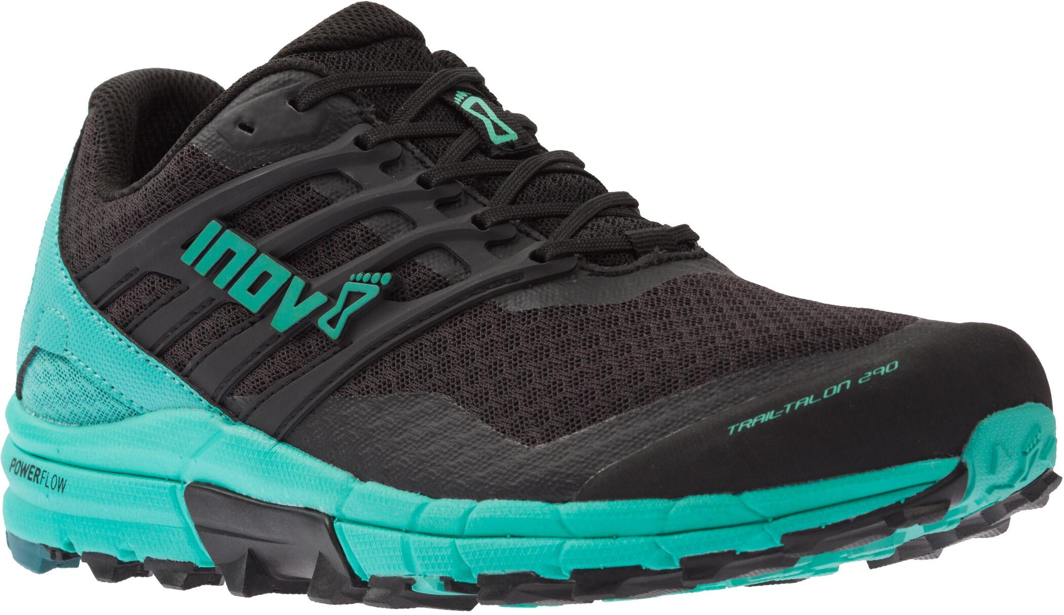 inov-8 Trailtalon 290 Sko Damer, black/teal   Shoes and overlays
