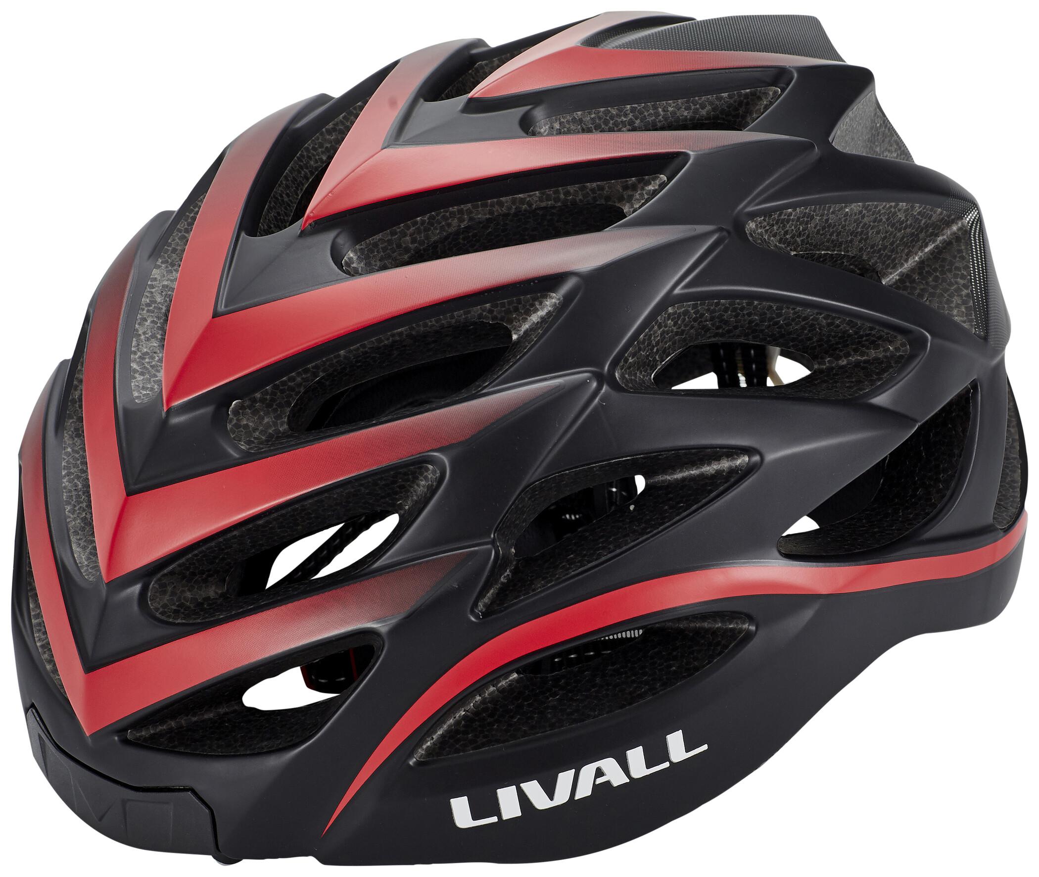LIVALL BH62 Hjelm inkl. BR80, black/red (2020) | Helmets