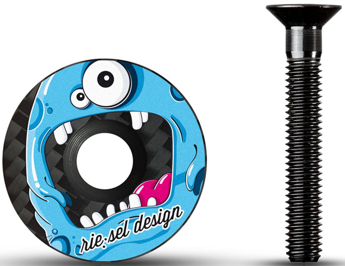 rie:sel design stem:cap, monster   Top caps