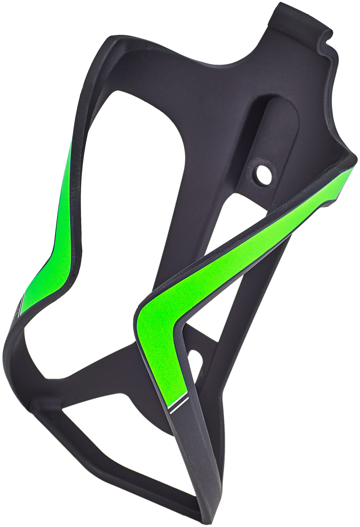 BBB FlexCage BBC-36 Flaskeholder, matte black/green (2019) | Bottle cages
