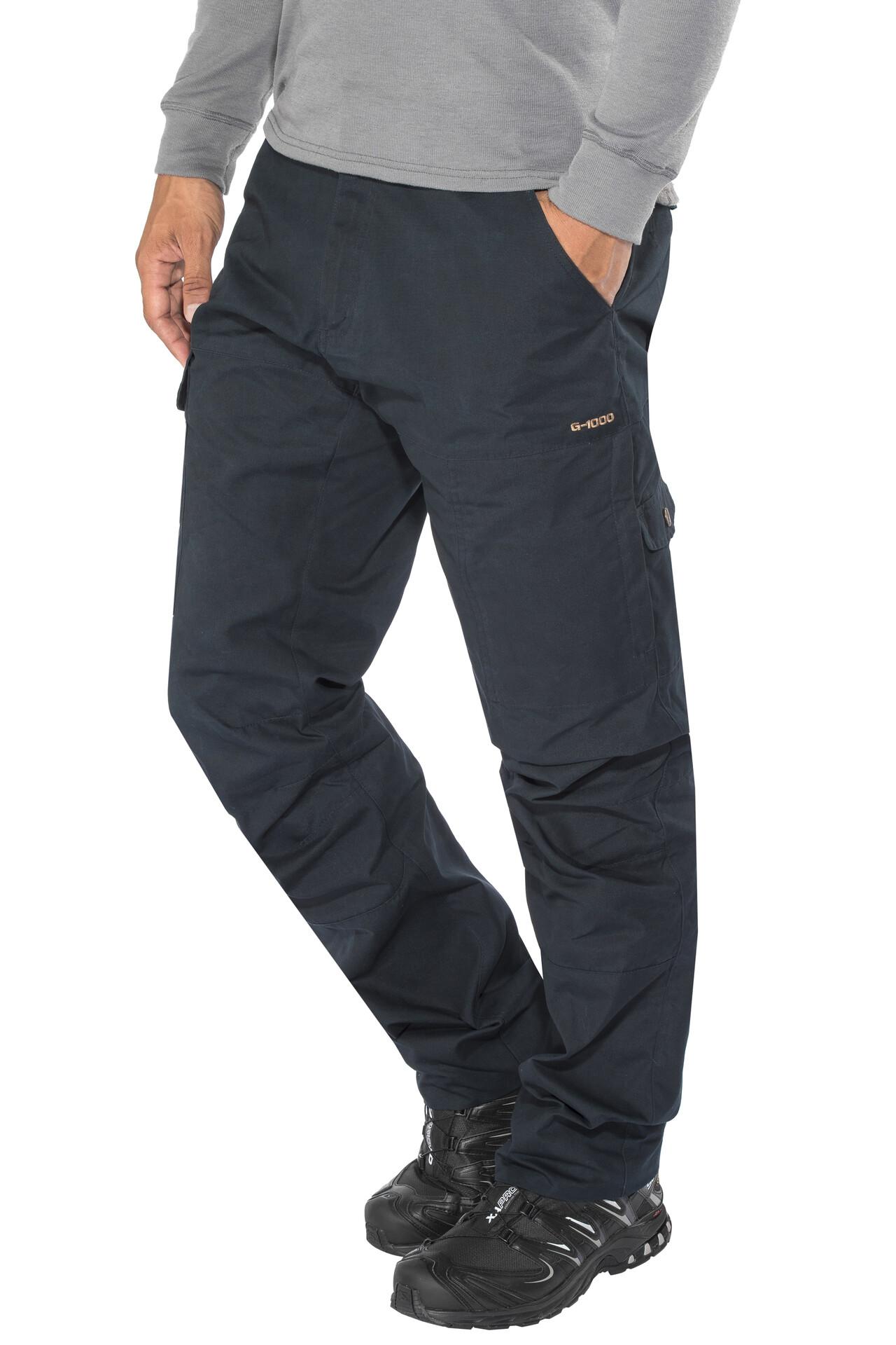 Dark Grey Fjällräven Karl-Pro Zipp Off Trousers Herrenhose