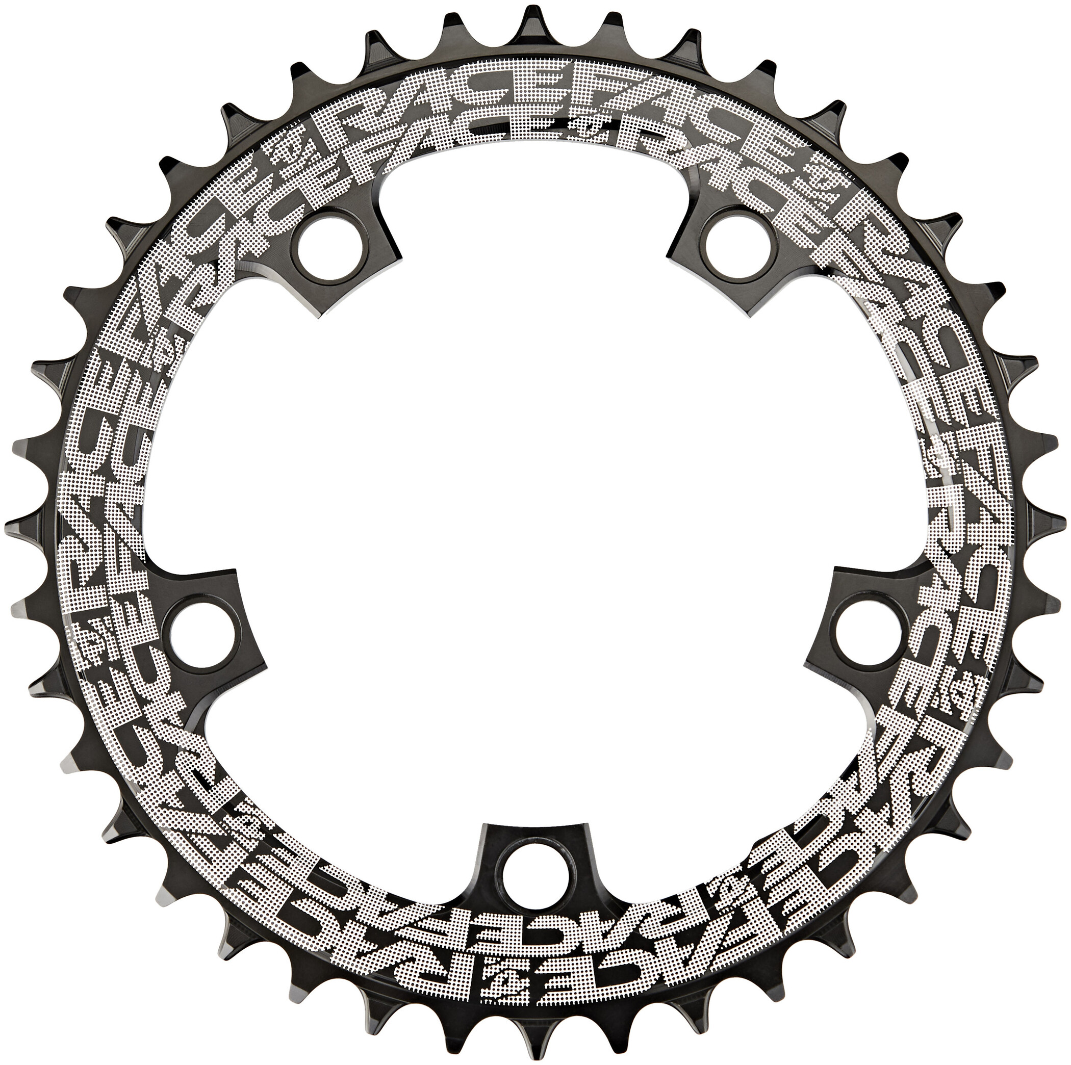Race Face Narrow Wide Klinge 5-Bolt 10/11/12-speed 110mm, black (2019) | chainrings_component