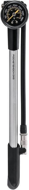Topeak Pocketshock DXG-Precision Fork and Shock Pump with Guage 25BAR 360psi