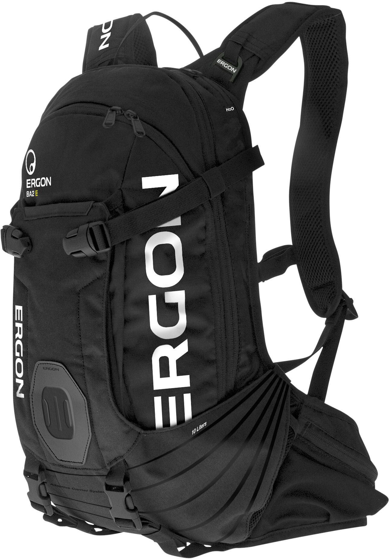Ergon BA2 E Protect Rygsæk 10l, black (2019) | Travel bags