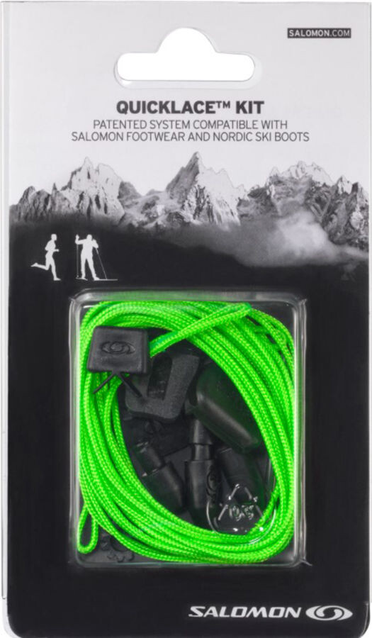 Salomon Quicklace Kit, green | Løbesko