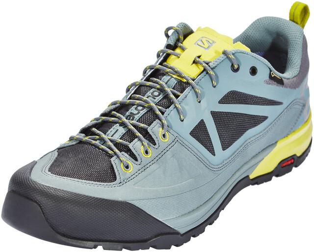 Salomon Outdoor Schuhe X ALP MID LTR Gr 42 Goretex Wanderschuhe