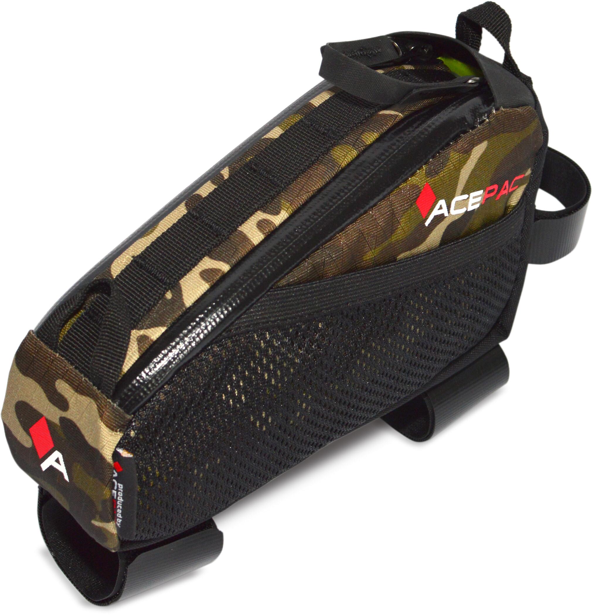 Acepac Fuel Cykeltaske M, camo (2019)   Frame bags