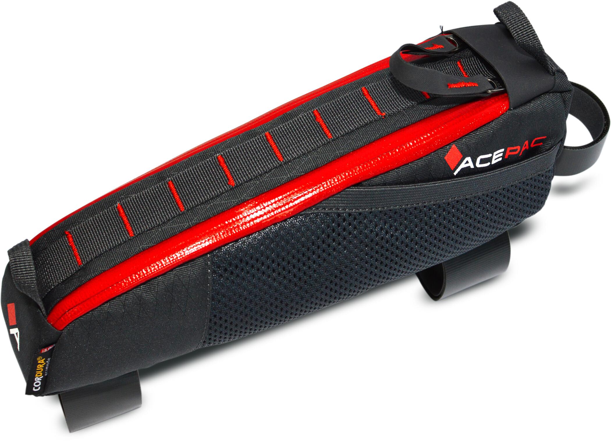 Acepac Fuel Cykeltaske L, grey (2019)   Frame bags