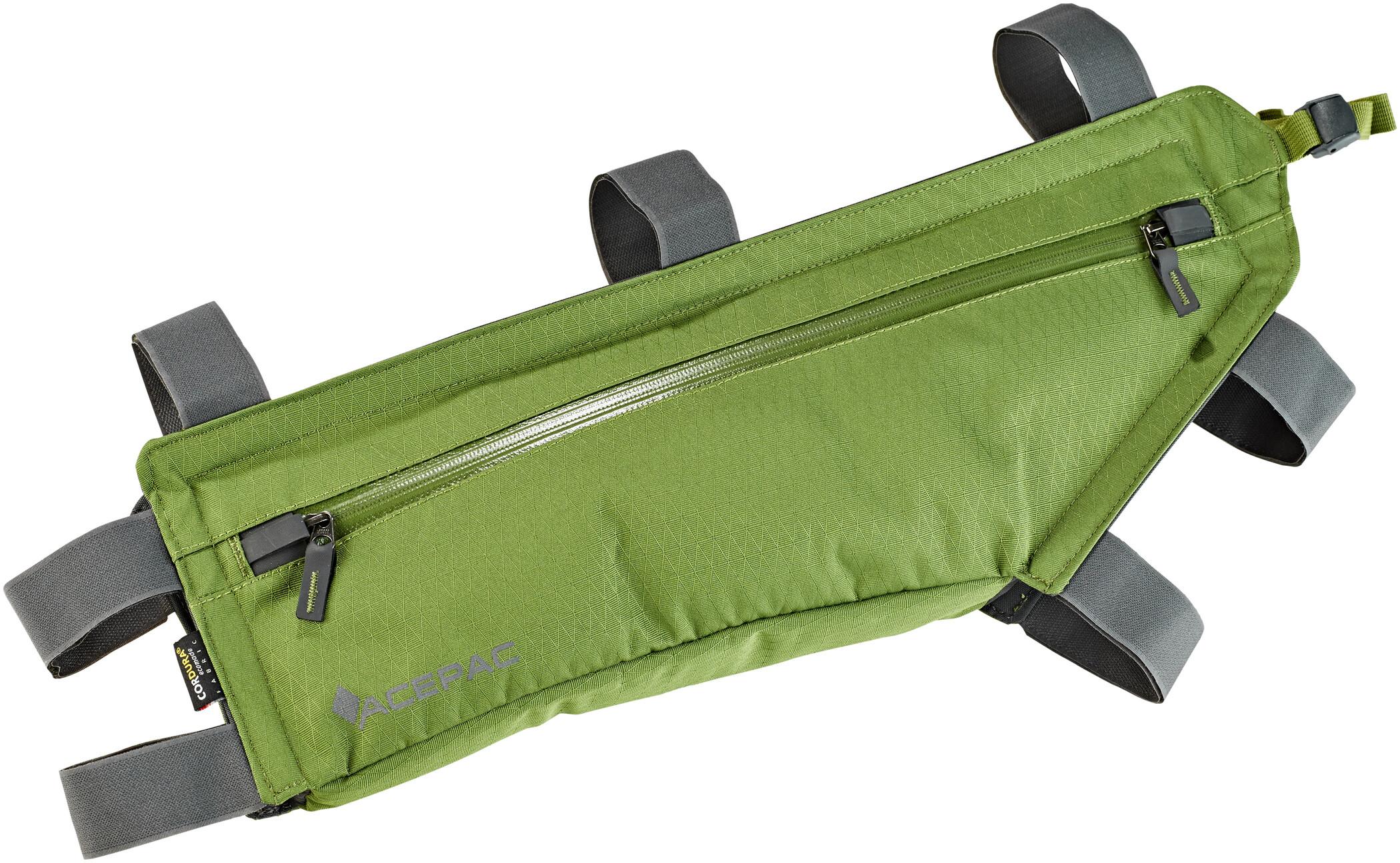 Acepac Zip Frame Bag L, green (2019)   Frame bags