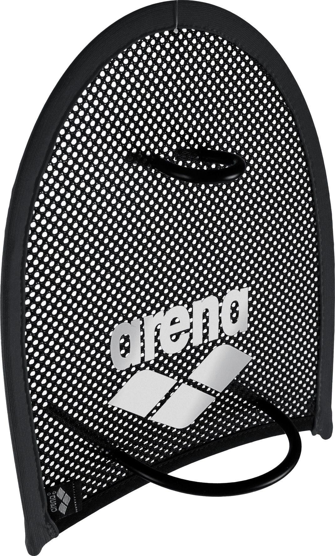 arena Flex Håndpadler, black-silver   swim_clothes