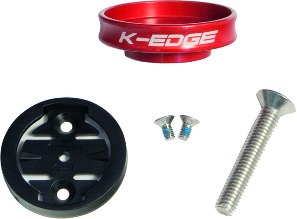 K-EDGE Garmin Gravity Cap Holder, red (2019) | Computere > Tilbehør