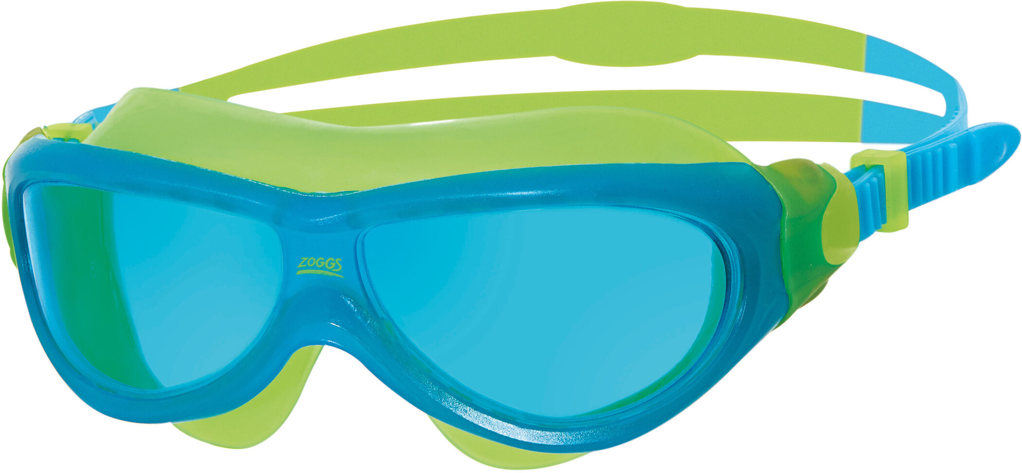 Zoggs Phantom Svømmebriller Børn, blue/yellow/tint (2019) | swim_clothes