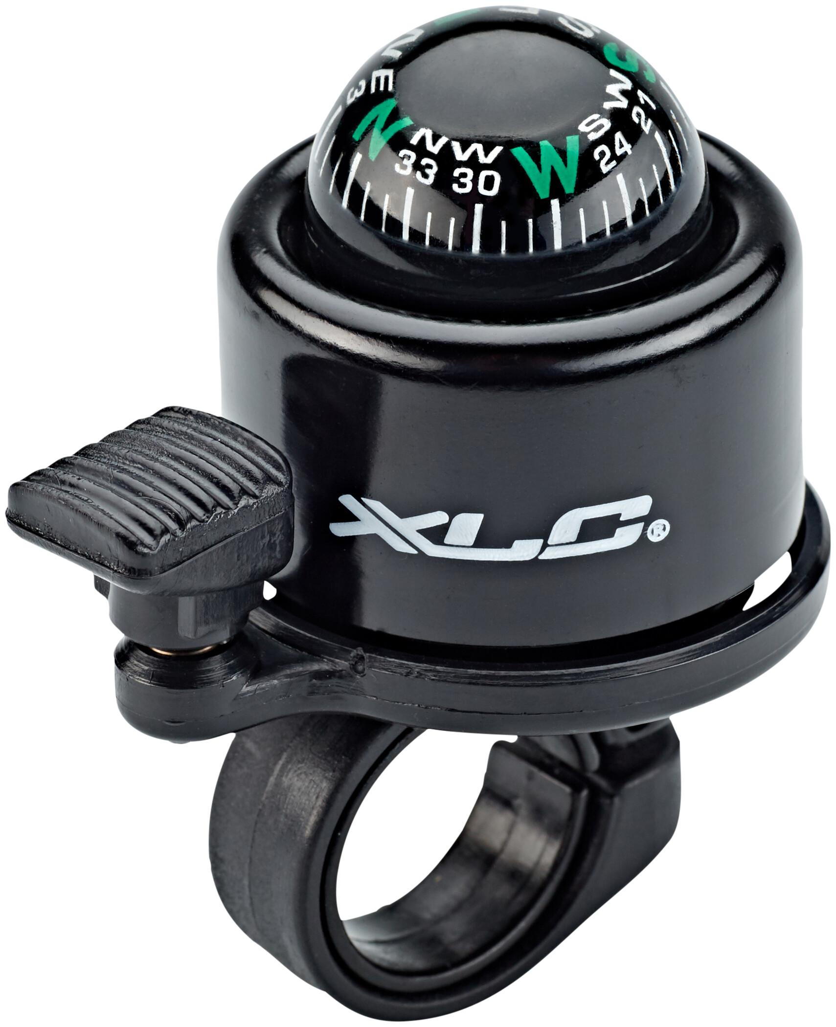 XLC Miniklokke med kompas DD-M23, black | Bells