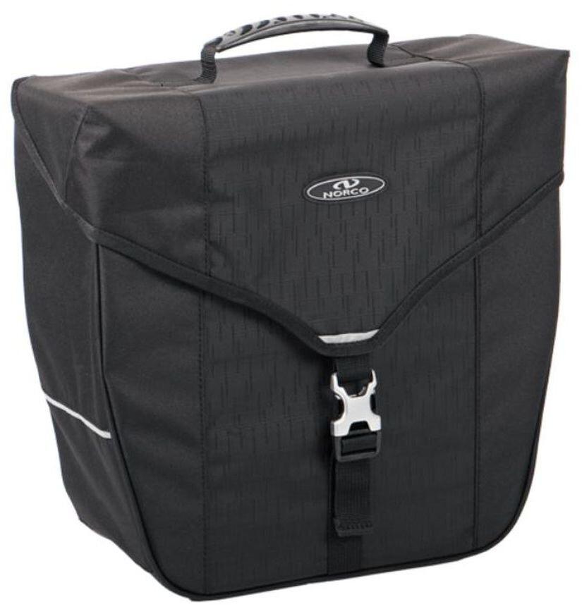 Norco Kinsale Cykeltaske, black | Tasker til bagagebærer