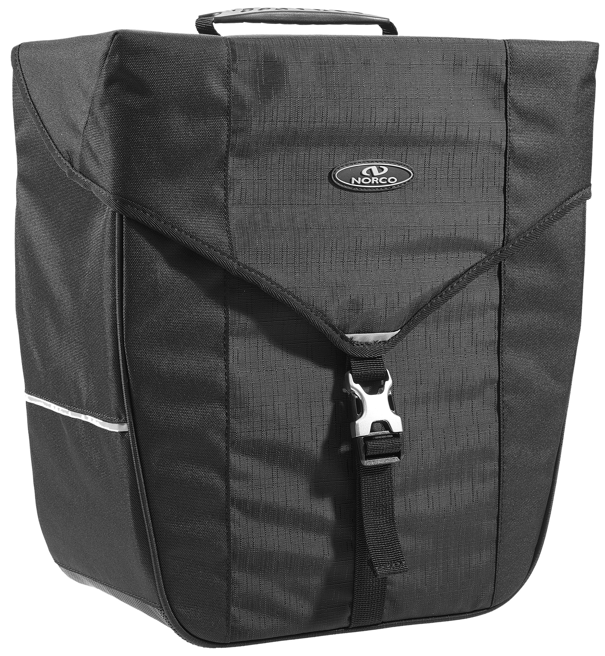 Norco Bandon Cykeltaske, black   Tasker til bagagebærer