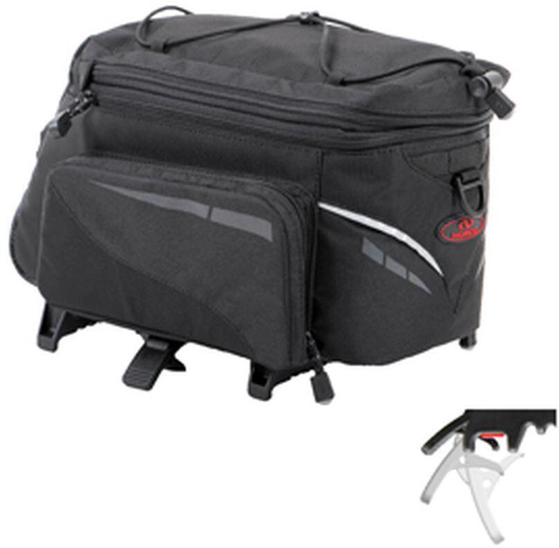 Norco Canmore Sidetasker TopKlip, black | Tasker til bagagebærer