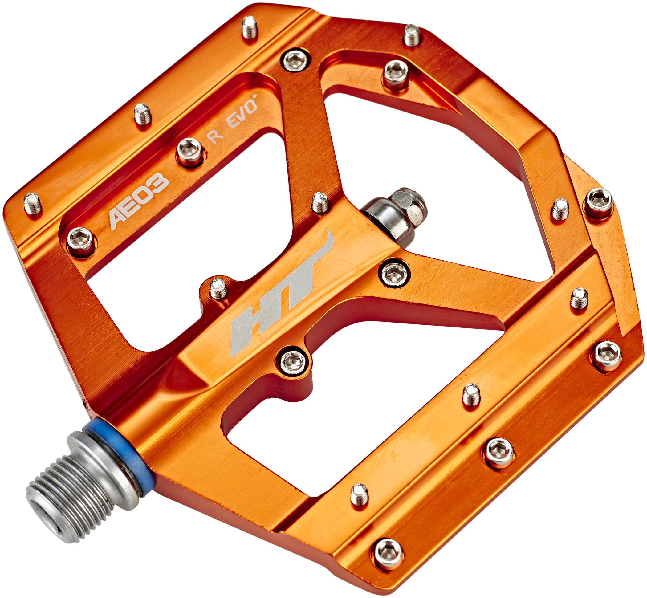 HT AE03 EVOFlat-pedaler, orange (2019) | Pedaler