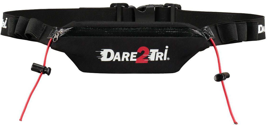 Dare2Tri Pocket Race Belt, black (2019)   misc_clothes