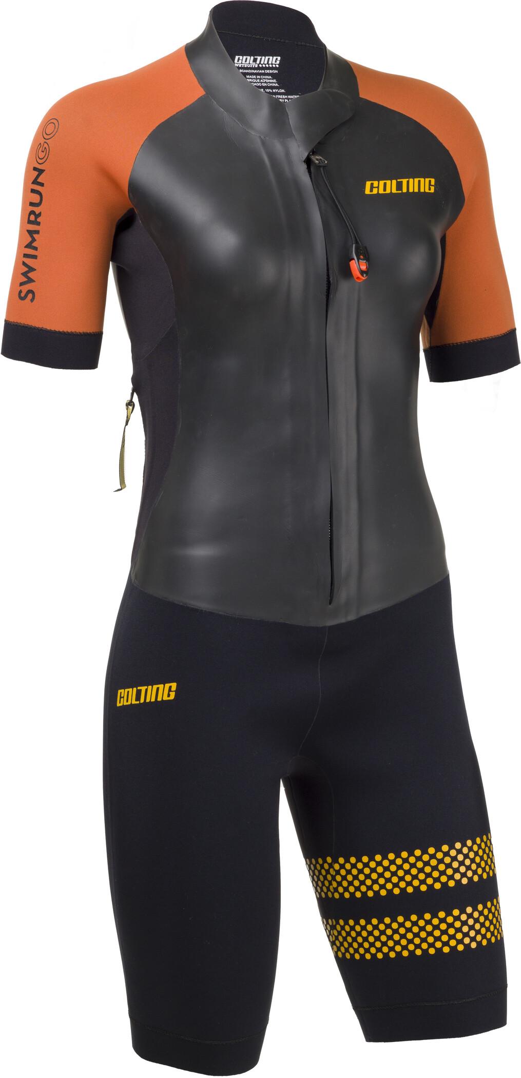 Colting Wetsuits Swimrun Go Våddragt Damer, black/orange (2019) | swim_clothes