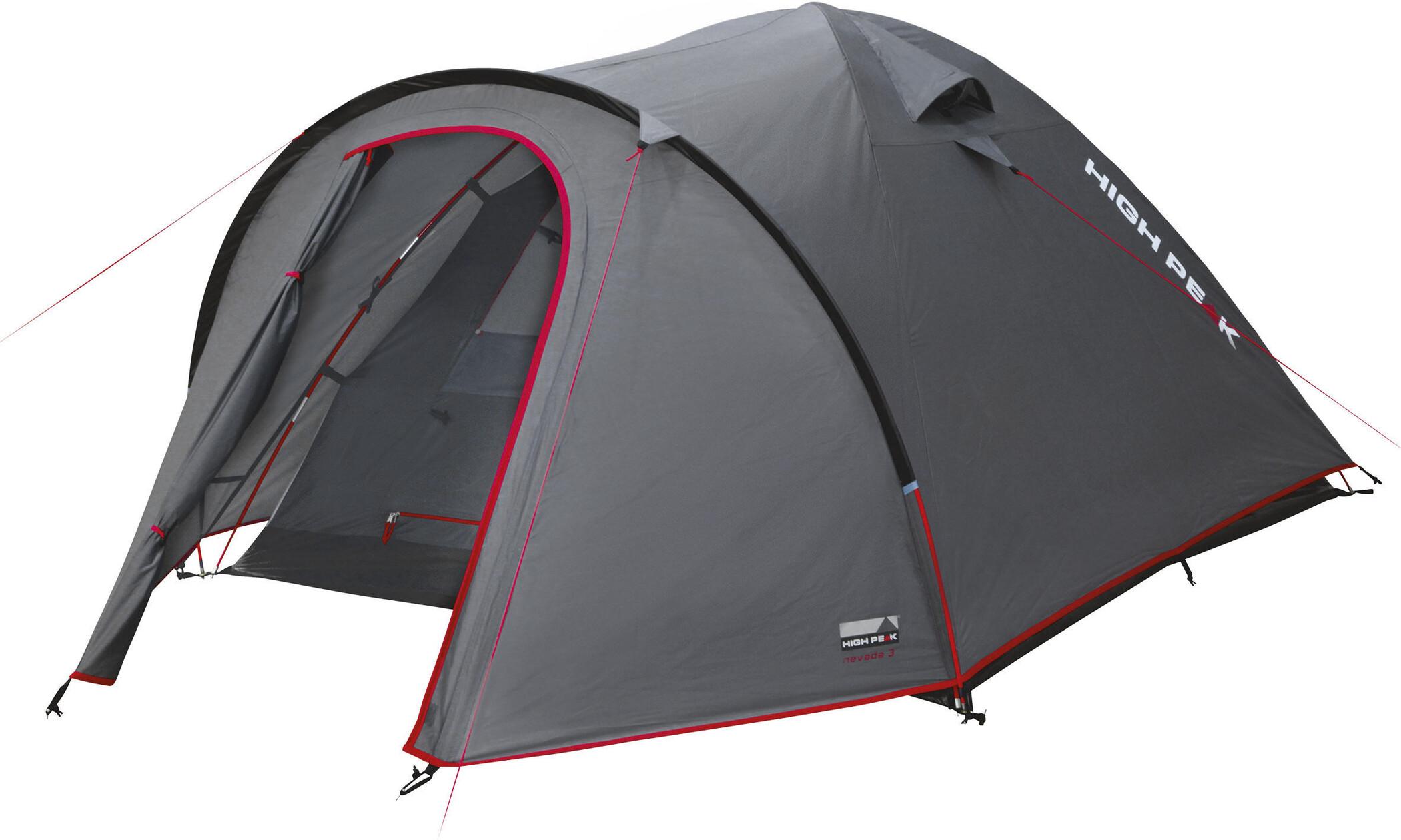 High Peak Nevada 2 Telt, dark grey/red (2019)   Misc. Transportation and Storage