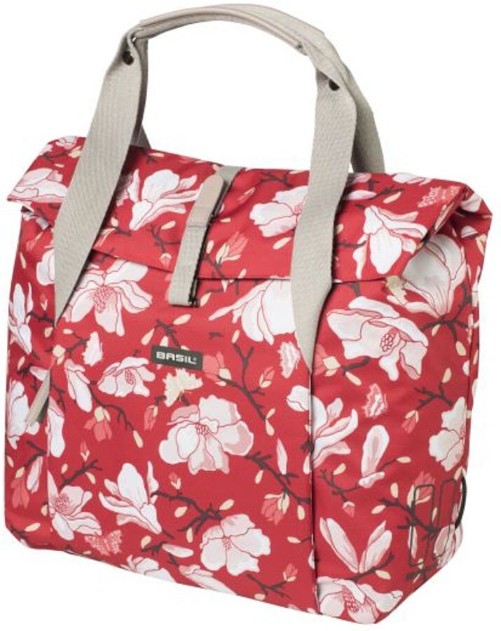 Basil Magnolia Sidetasker 18l, poppy red (2020) | Rack bags
